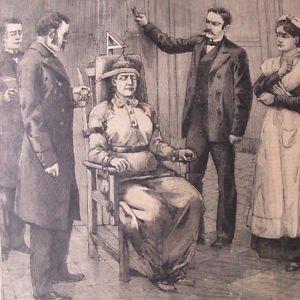 Казнь женщины на электрическом стуле в США - 1899 год